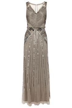Gray sequin bridesmaid dress - My wedding ideas