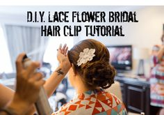 DIY Tutorial: How to Make a DIY Bridal Hair Comb for Your Wedding | Capitol Romance ~ Practical & Local DC Area Weddings