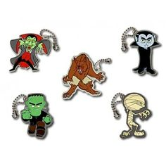 New spooky Halloween Travel Tags - $4.99 each at shop.geocaching.com