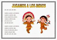 Cantores infantiles.: JUGAMOS A LOS INDIOS Reserva India, Indian Party, Native American, History, Crafts, Aurora, Canada, Children's Literature, Singers