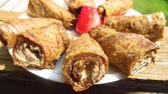 """Peanut"" Butter and Jelly Banana Wraps [Raw Vegan Recipes] | therawbuzz.com"