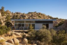 Dwell - Offered at $674K, This Hybrid Prefab Is in Tune With the Californian Desert