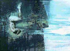 Tone Dietrichson - Tracks Fantasy, Painting, Art, Art Background, Imagination, Painting Art, Kunst, Paintings, Fantasy Movies