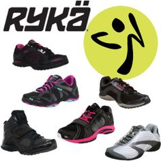 6 of the Best Ryka Zumba/Jazzercise Shoes