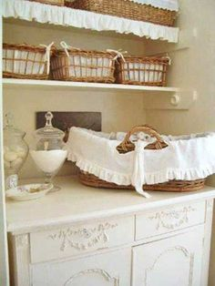 clothes chic laundry room