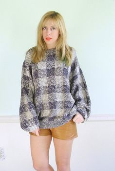 Slouchy Sweater, on Etsy, $55.00