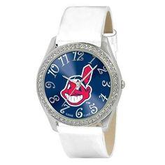 Cleveland Indians MLB Ladies Glitz Series Watch