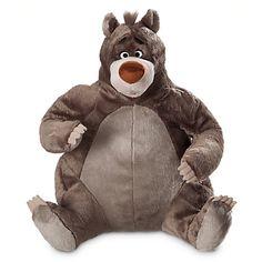 The Jungle Book Baloo 14 inch plush. WANT SO BAD !!