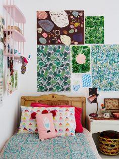Boho Botanical & Fun Bedroom