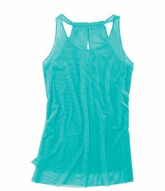 If there is a top I've been wanting FOREVER it's the @oiselle Mio Mesh. Couldn't get a hold of it in time, but here it is again - new colors and different name exclusive for @title nine, the Mystique Tank - Products   NEED.
