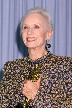In 1990 at the age of 80, Jessica Tandy became the oldest winner of the Academy Award for Best Actress for her role in DRIVING MISS DAISY!!!