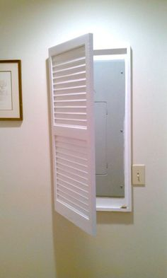 Framed Access Panel Diy Pinterest Electric Closet