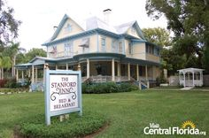 ***** Stanford Inn Bartow, Fl.  NOW CLOSED One of the best High Tea's we ever went to.