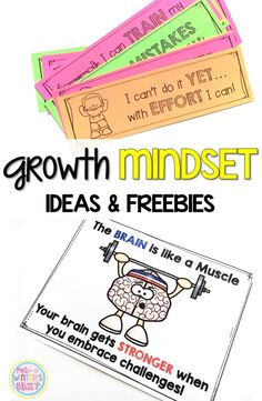 Mindset Teaching Ideas and FREE Resources Free Growth Mindset resources, activities, and ideas perfect to teach students…Free Growth Mindset resources, activities, and ideas perfect to teach students… Growth Mindset For Kids, Growth Mindset Classroom, Growth Mindset Activities, Growth Mindset Lessons, Social Emotional Learning, Social Skills, Coping Skills, Life Skills, Habits Of Mind