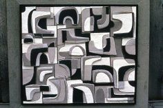 A wall piece by Clyde Burt, likely from the early 70s. His son is currently doing heroic work in converting his father's slides and posting them to a site devoted to the late ceramic artist's work: https://www.facebook.com/clydeburtceramics