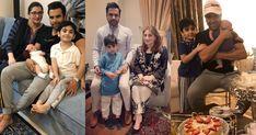 Sadia Imam Beautiful Clicks with Husband and Daughter Bridal Dresses, Girls Dresses, Flower Girl Dresses, Nadia Hussain, Nida Yasir, Ahsan Khan, Kinza Hashmi, Hareem Farooq, Hania Amir