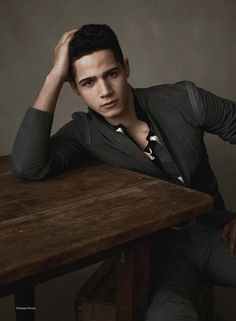 The Men by Mariano Vivanco for GQ China | F.TAPE | Fashion Directory