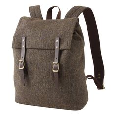 wool backpack by Muji  great winter option **