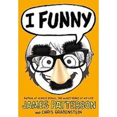 I Funny - A Middle School Story by Chris Grabenstein, James Patterson: Jamie Grimm is a middle schooler on a mission: he wants to become the world's greatest standup comedian--even if he doesn't have a lot to laugh about. ON OUR SHELVES NOW! I Funny Book, Funny Me, Funny Kids, Hilarious, James Patterson, New Books, Good Books, Books To Read, Grimm