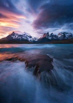 """radivs: """"Patagonian Winds - Lago Pehoe by Felix Inden """""""