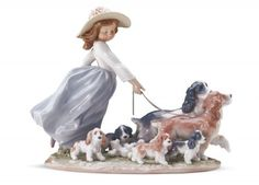 Shop for Lladro Puppy Parade at Ramcreations.com