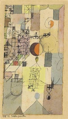Paul Klee, Zahlenpavillon (Pavilion of Numbers)