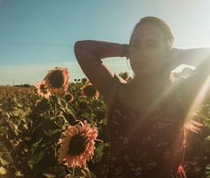 #girl #portrait #light #sun #nature #sunflower #girlpower #peaceful