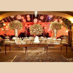 Decoração de casamento - Mesa de Doces - Museu Histórico Nacional