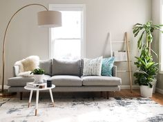 Interior Decorating - February 20 2019 at Living Room Designs, Living Room Decor, White Subway Tiles, Living Room Accessories, Modern Couch, Thrifty Decor, Cozy Bedroom, Interior Decorating, Decorating Ideas