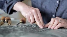 A new film about Angie Lewin's work, The Making of Nature Table