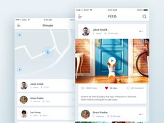 Social Location App by Masudur Rahman 