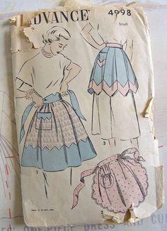 I love sewing aprons!