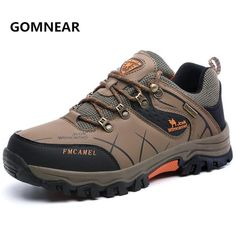 sports shoes 86367 7f00f New Arrival Men camel Tennis Trekking Hiking shoes outdoor hunting  Breathable Waterproof Antiskid jogging Athletic sport shoes