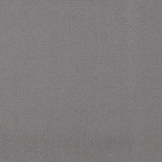 """66"""" Poly/Cotton Twill Grey from @fabricdotcom  This versatile medium weight (approx. 7.7 ounce) poly/cotton twill fabric has wrinkle resistant finish. It is perfect for window treatments, toss pillows, table top, upholstery and other home decor accents. Create handbags, apparel (skirts, lightweight jackets, pants) and aprons."""