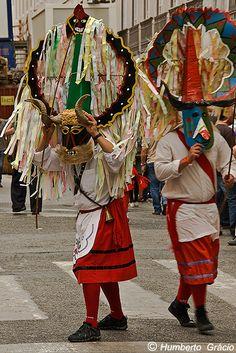 Iberian Festival of the Mask by careto-de-lagoa-mira, Portugal Sea Activities, Festivals Around The World, Culture Shock, Western World, Arte Popular, Portugal Travel, Traditional Outfits, Portuguese, Masquerade