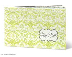 A beautiful, simple and meaningful gift for Mother's Day, or any day that you want to let Mom know how you feel.  For only $15, you can't go wrong. #scrapbooking