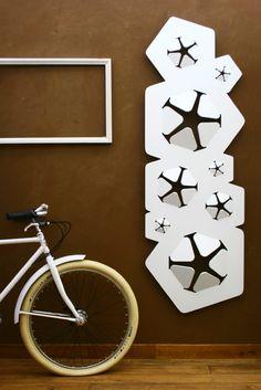 Elegant and sustainable radiator design by Giovanni Tomasini.