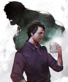 """""""Bruce Banner"""" by SiaKim"""