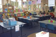 Photos of classroom setups