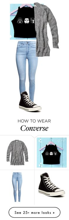 """What I Wore to the Star Wars movie!!"" by readsalot on Polyvore featuring H&M, Converse, Abercrombie & Fitch and starwars"