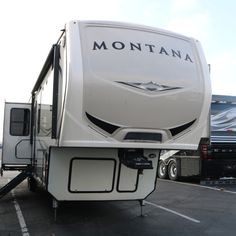 You're going to love the huge comfortable front Living Room in this 2018 Keystone RV Montana 3790RD fifth wheel that just came in on trade!