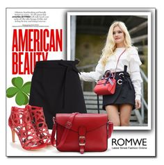 """""""Mix and Match with Romwe"""" by danijela-3 ❤ liked on Polyvore featuring WithChic"""