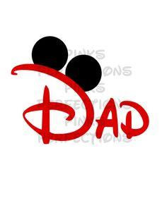 Disney Shirt, Disney Iron On Transfer, Mickey Mouse Ears, Minnie Mouse Pary, Disney Vacation, Disney Party Disney World, Disney Dad