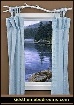 Rustic Decorating Ideas With Logs | ... +ideas-fun+window+treatment+ideas-window+decorating+ideas.jpg *LOVE the branch to hold the curtain*