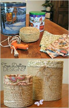 Rope Crafts DIY Decoration Ideas Rope Crafts DIY Decoration Ideas  #ropecrafts #ropeideas<br>