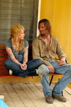 I love how Sawyer/James was like a Big Brother to Claire after they lost Charlie. It showed a sweet side to Sawyer, a sibling love side.