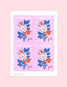 The stamp used in this print is vintage and the colours used are bright to bring back a modern touch Journal Vintage, Design Art, Print Design, Lightroom, Photoshop, Wow Art, Vintage Stamps, Graphic Design Posters, Graphic Art