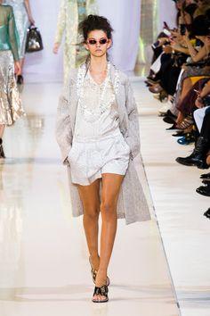Défilé Rochas, prêt-à-porter printemps-été 2014, Paris. #PFW #fashionweek #runway