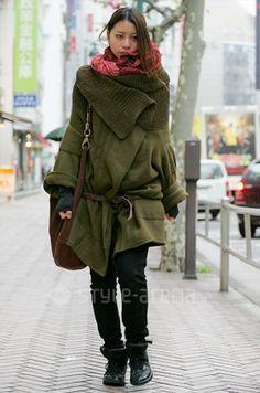 Another amazing blanket coat