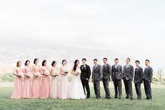 bright, blush and pretty ; an ocean front wedding | makeup and hair by kelly / rachel | photos by emma at honey honey photography (www.hoooney.com) #kellyzhang #kellyzhangstudio #honeyhoney #emmamcgowan #terranearesort #wedding #ranchopalosverdes #oceanfrontwedding #california